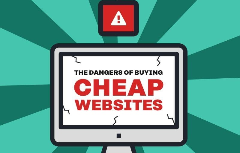 """The Dangers of Buying Cheap Websites Online"""
