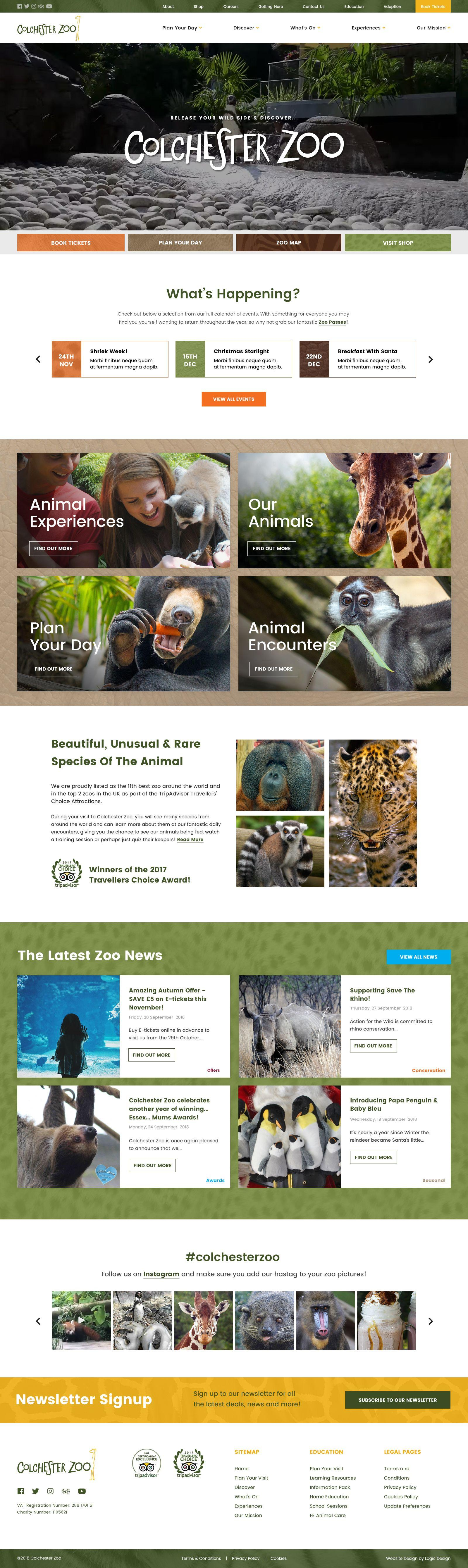 Large WordPress Website for leading UK tourist attraction