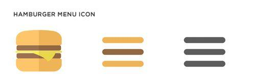 Hamburger Menu Icon Evolution