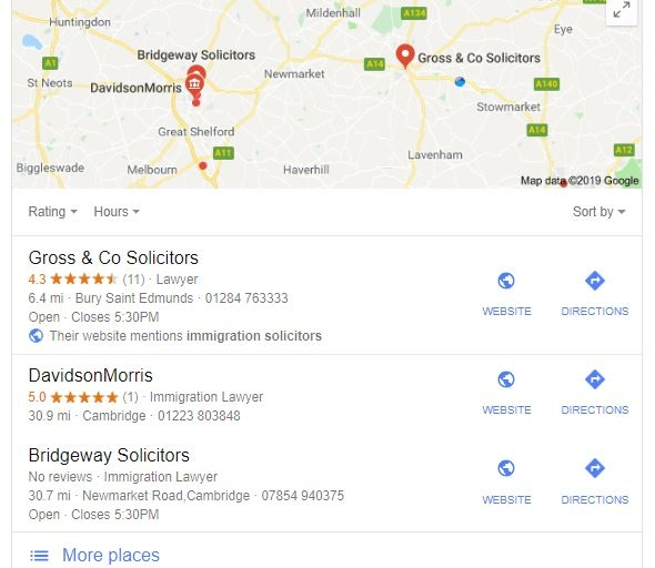 local seo - search engines understanding user intent by expanding search